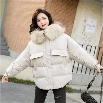 レディース ロング丈コート 中綿ジャケット 上着 カジュアル 防寒 防風 OL 通勤 暖かい アウター 学生 希少 通学 上質コート