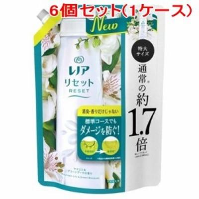 レノアリセット ヤマユリ&グリーンブーケの香り つめかえ用 特大サイズ 795mL×6個(1ケース)