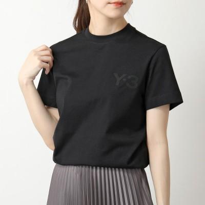 Y-3 ワイスリー adidas アディダス YOHJI YAMAMOTO GM3274 W CLASSIC CHEST LOGO SS TEE 半袖 Tシャツ カットソー クルーネック コットン BLACK レディース
