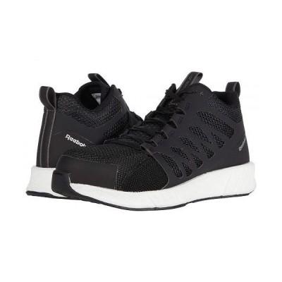 Reebok Work リーボック メンズ 男性用 シューズ 靴 スニーカー 運動靴 Fusion Flexweave(TM) Work Composite Toe - Black/White