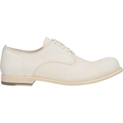 オフィチーネ クリエイティブ OFFICINE CREATIVE ITALIA メンズ シューズ・靴 laced shoes Ivory