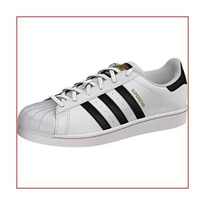adidas Originals womens Superstar Sneaker, White/Black/White, 6.5 US【並行輸入品】