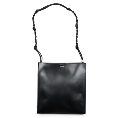 JIL SANDER ジルサンダー TANGLE ミディアム TOTE BAG ブラックショルダーバッグ 鞄 イタリア正規品 新品