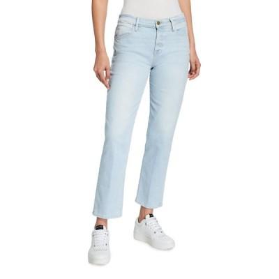 フレーム レディース デニムパンツ ボトムス Le High Straight Jeans
