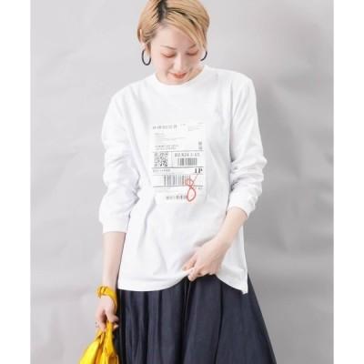 tシャツ Tシャツ BLANC basque ブランバスク タイベックプリント ロンTee