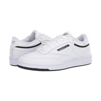 Reebok Lifestyle リーボック メンズ 男性用 シューズ 靴 スニーカー 運動靴 Club C Revenge Mu - White/Black/Silver Metallic