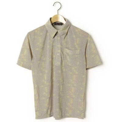 シャツ ブラウス 総柄半袖シャツ