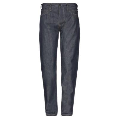YOOX - CALVIN KLEIN JEANS ジーンズ ブルー 30W-32L コットン 98% / ポリウレタン 2% ジーンズ
