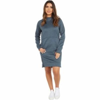 バートン Burton レディース ワンピース パーカーワンピース ワンピース・ドレス Oak Hoodie Dress Dress Blue Heather