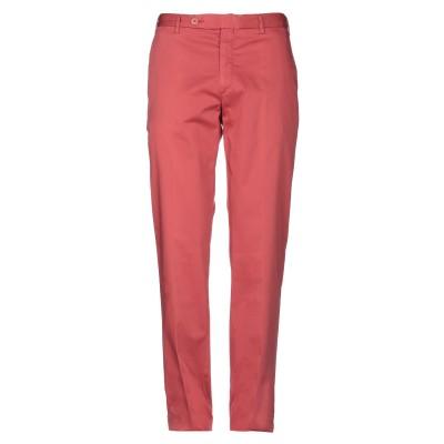 ROTASPORT パンツ 赤茶色 50 コットン 98% / ポリウレタン 2% パンツ