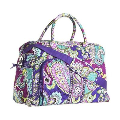 Vera Bradley Womens Weekender Heather Duffel Bag 並行輸入品