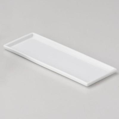 業務用食器 白磁長角カスタートレー 21.2×8.3×1cm 卓上カスターセット