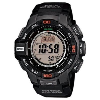 腕時計 カシオ Casio Men's PRG-270 Pro Trek Triple Sensor Multifunction Digital Solar Watch
