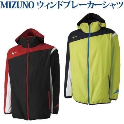 ミズノ ウィンドブレーカーシャツ 62JE8001 メンズ 2018SS バドミントン テニス ソフトテニス バレーボール  m2off