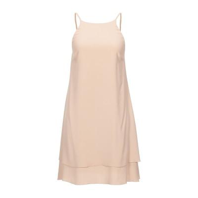 カルラ ジー CARLA G. ミニワンピース&ドレス ベージュ 44 アセテート 68% / シルク 32% ミニワンピース&ドレス