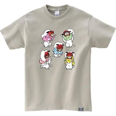 猫 Tシャツ ねこ おもしろ ネコ メンズ レディース 半袖 猫大神楽