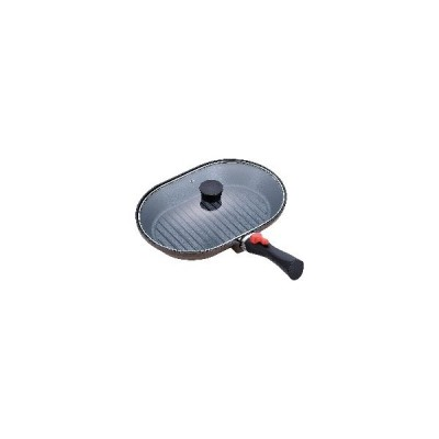 MM-9546 オーバルパン 22×32cm マローネシェフ IH対応 着脱式ハンドル:和平フレイズ