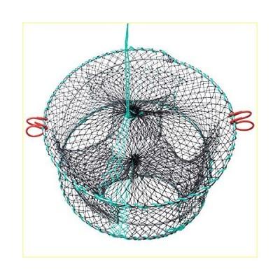 FFNIU Crab Trap, Fishing Bait Foldable Net Cast Dip Cage for Crab Fish Minnow Crawdad Shrimp【並行輸入品】
