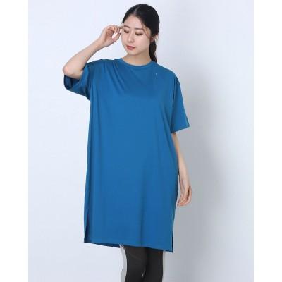 オークリー OAKLEY レディース 半袖機能Tシャツ RADIANT TENDER ONE-PIECE FOA500159 (ブルー)