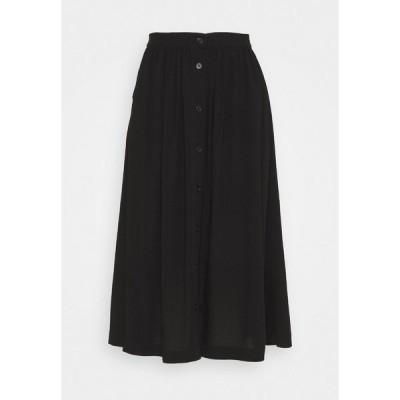ソヤコンセプト スカート レディース ボトムス SC-RADIA 93 - A-line skirt - black