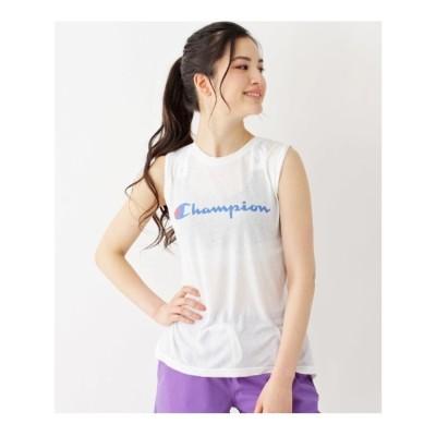 グローブ grove 【WEB限定】Champion ノースリーブTシャツ (オフホワイト)