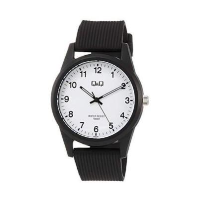 【ゆうパケットで送料無料】シチズン時計 Q&Q 腕時計 10気圧防水 ホワイト 見やすい腕時計 VS40-001
