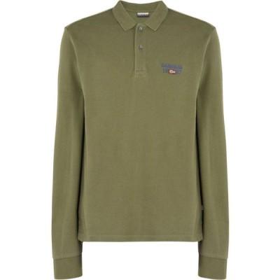 ナパピリ NAPAPIJRI メンズ ポロシャツ トップス erthow polo shirt Military green