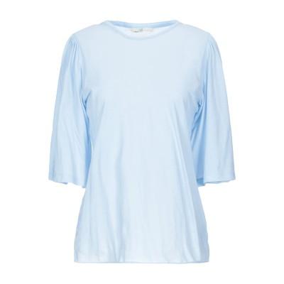 HAIKURE T シャツ アジュールブルー L コットン 100% T シャツ