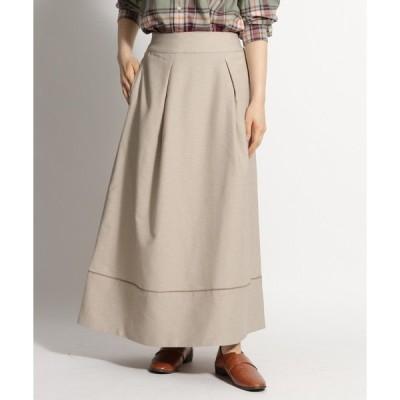 スカート RIRANCHAコード入りフレアースカート