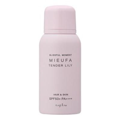 ■■ナプラ ミーファ フレグランス UVスプレー テンダーリリー 80g SPF50+PA++++/MIEUFA/napla