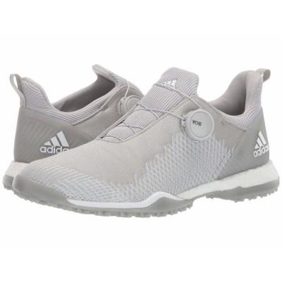 アディダス スニーカー シューズ レディース Forgefiber Boa Grey Two/Footwear White/Silver Metallic