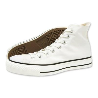 CONVERSE(コンバース)CANVAS ALL STAR J HI(キャンバス オールスター J HI)(ホワイト) スニーカー ハイカット 日本製 白 メンズ レディース 定番