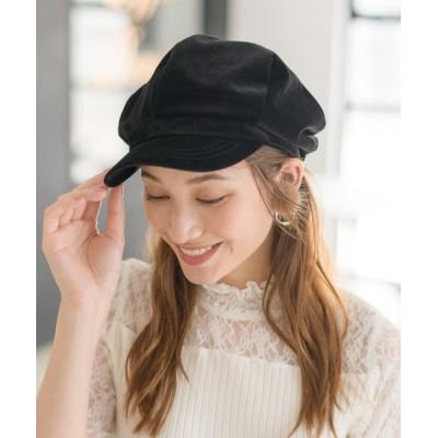 Rewde / コーデュロイボリュームキャスケット(0R18-HT007) WOMEN 帽子 > キャスケット