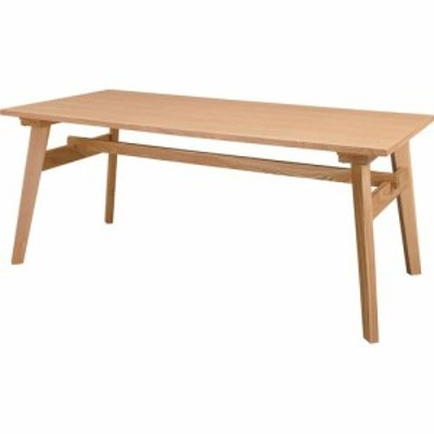 東谷 木製ダイニングテーブル RTO-745TNA ナチュラル 1600X800X650mm