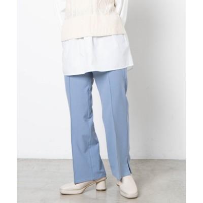 WEGO / Dukkah/【低身長向け】ウエスタンバックルベルトセミフレアパンツ WOMEN パンツ > スラックス