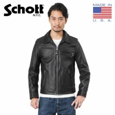 【T】Schott ショット 7209 103US レザートラッカージャケット【Cx】 夏新作 送料無料