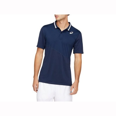 CLUB ポロシャツ ASICS アシックス SAテニス Tシヤツ ポロシヤツ (2041A086)