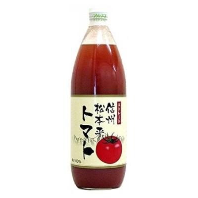 ギフト プレゼント お中元 1ケース単位 2ケースまで1梱包 アルプスジュース 信州松本平トマト1L瓶1ケース 6本入