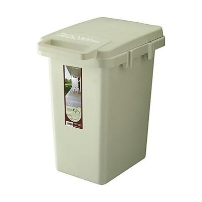 リス ゴミ箱 ワンハンドペール ハンドル付きコンテナスタイル2 CS2-33J ライトグリーン 33L eco日本製