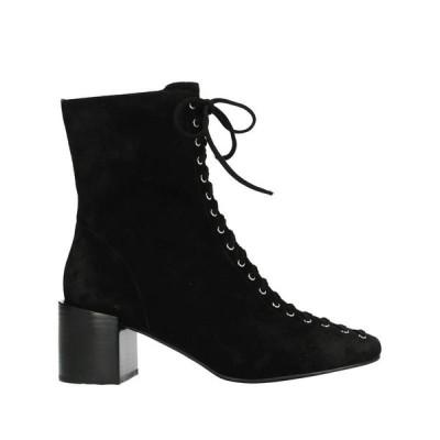 JEFFREY CAMPBELL ショートブーツ ファッション  レディースファッション  レディースシューズ  ブーツ  その他ブーツ ブラック