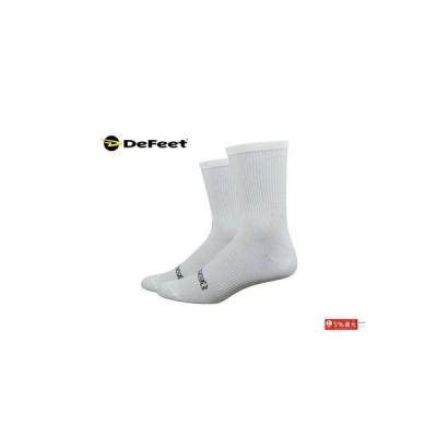 """(秋の感謝セール)ディフィート(DeFeet) EVO CLASSIQUE 6"""" <White> ソックス"""