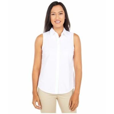 ラルフローレン レディース シャツ トップス Petite Easy Care Cotton Blend Shirt White