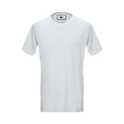 MACCHIA J T シャツ ライトグレー S コットン 100% T シャツ