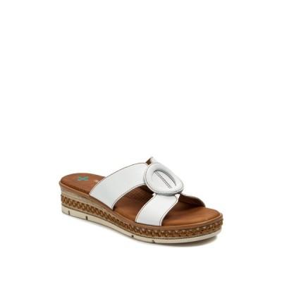 ベアトラップス レディース サンダル シューズ Bliss Slide Sandal WHITE