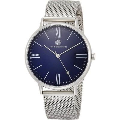 [トランスコンチネンツトウキョウ] 腕時計 TC01SNVSS メンズ 正規輸入品 シルバー