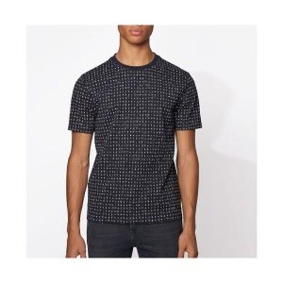 ヒューゴボス メンズ Tシャツ トップス BOSS Men's Tepol Cotton Piqué T-Shirt Dark Blue