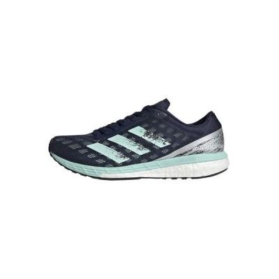 アディダス シューズ レディース ランニング ADIZERO BOSTON 9 SHOES - Neutral running shoes - blue