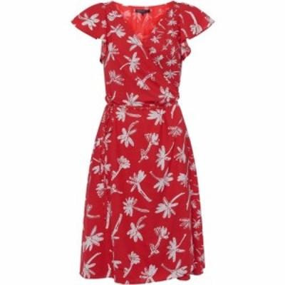 フレンチコネクション French Connection レディース ワンピース ラップドレス ワンピース・ドレス Arabella Crepe Printed Wrap Dress L