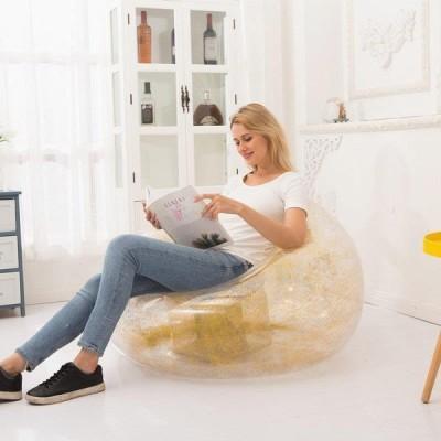 ソファ ソファ 一人掛け  空気を入れる  ビズクッション簡単 簡単設置 簡単収納 来客用 昼寝 快適 エアーソファー 座椅子