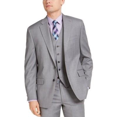 マイケルコース ジャケット&ブルゾン アウター メンズ Men's Classic-Fit Airsoft Stretch Suit Jackets Gray Sharkskin
